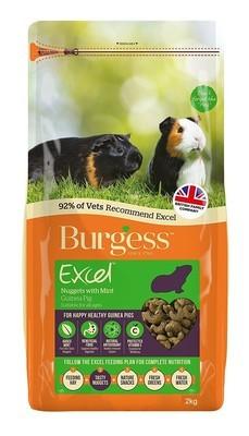 Burgess Excel Guinea Pig Pellets with Mint 2kg