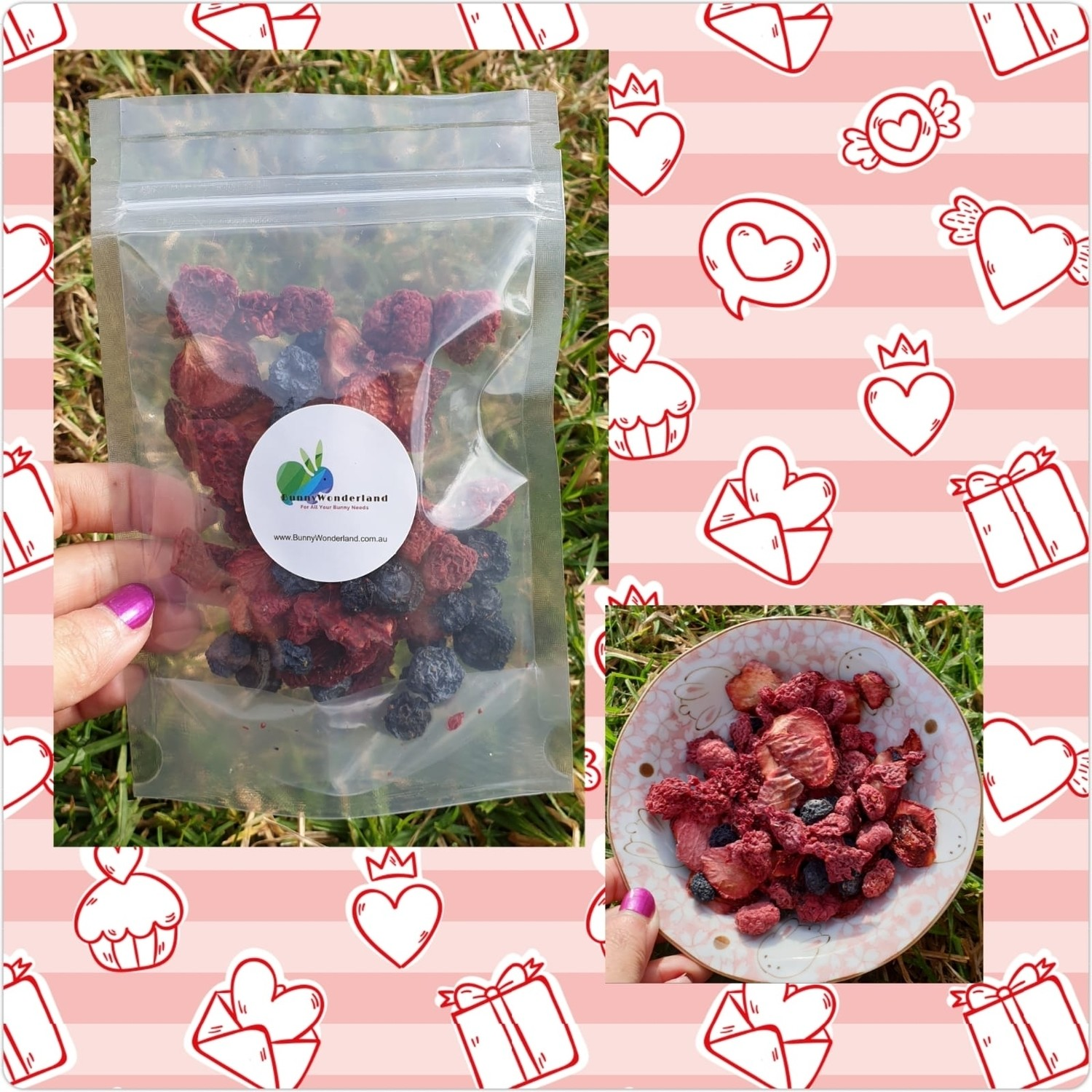 Dried Berry Mix 30g