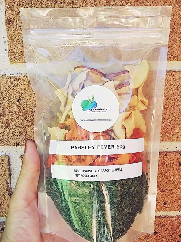 Hay/Pellet Topper - Parsley Fever 50g