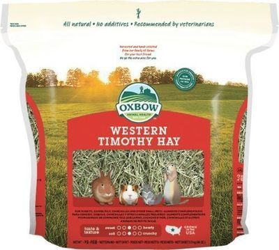 Oxbow Western Timothy Hay 4kg (available 8/11)