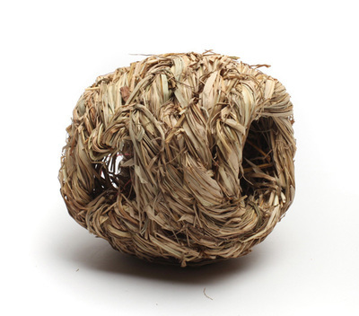 Natural Woven Grass Ball with Holes