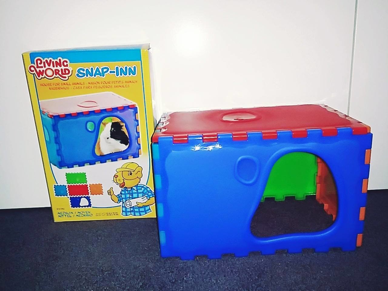 Medium Living World SNAP-INN #61392 House/Maze for Small Animals