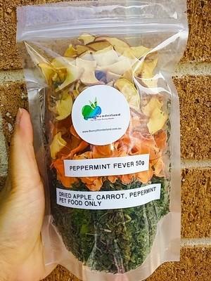 Hay/Pellet Topper - Peppermint Fever 50g