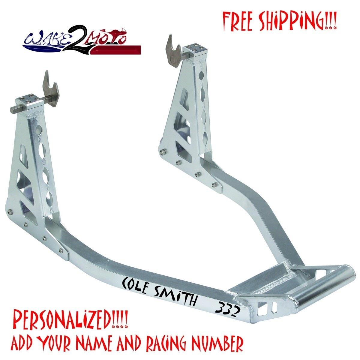 SPORT BIKE REAR SWING ARM SPOOL STAND