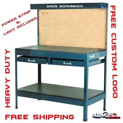 Steel Garage Workbench Work Table