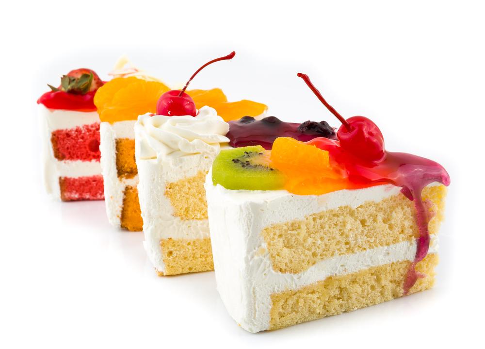 Cake Bar Slices
