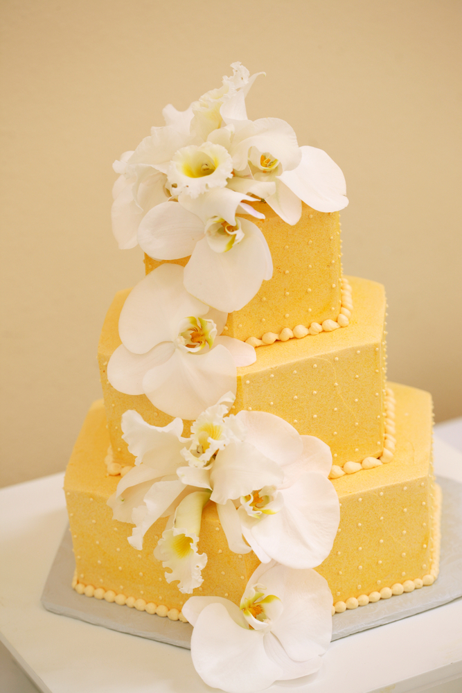 Lemon Tropics - Wedding Cake