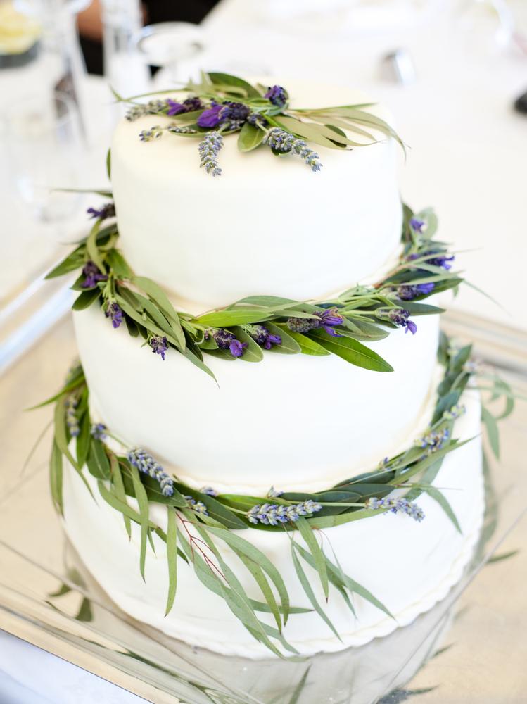Hawaiian Nights - Wedding Cake