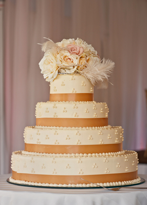 Cream Elegance - Wedding Cake