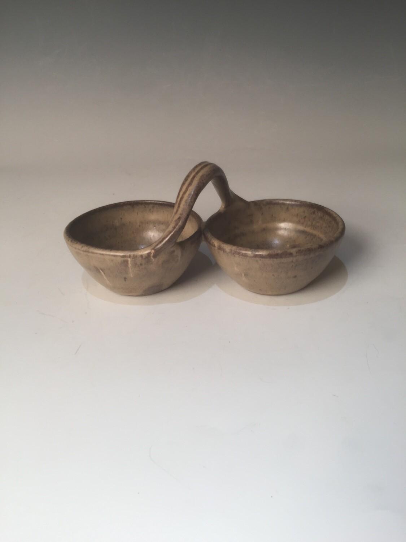 Condiment 2 Bowl/Sand