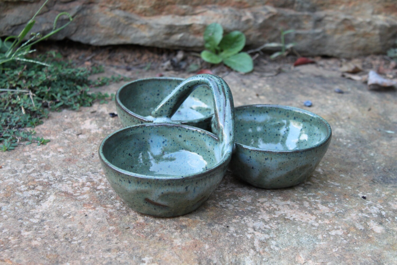 Condiment 3 Bowl/Lil River