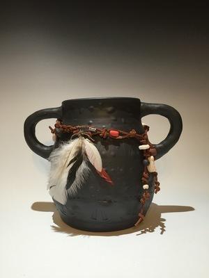 Cherokee Tribal Ceremonial Pot