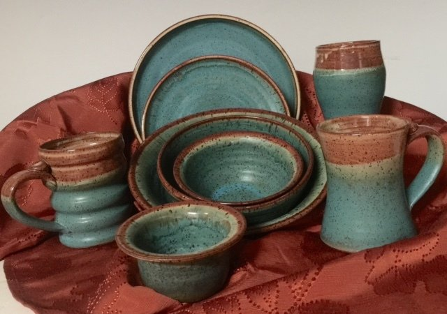 Dinner Plate / Turquoise