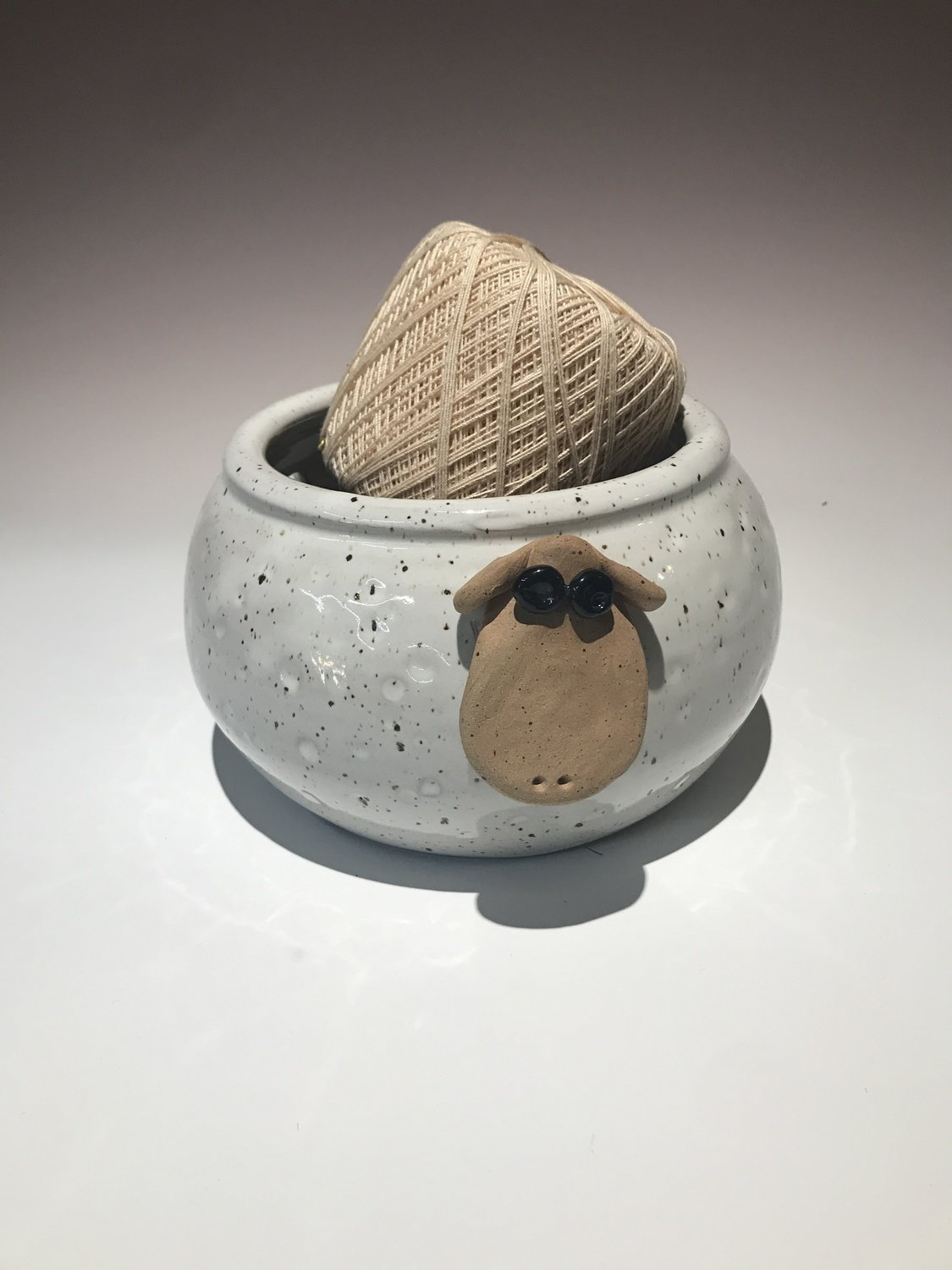 Farmhouse Sheep Yarn Bowl