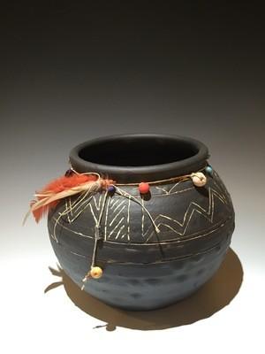 Cherokee Fire Dance Vessel