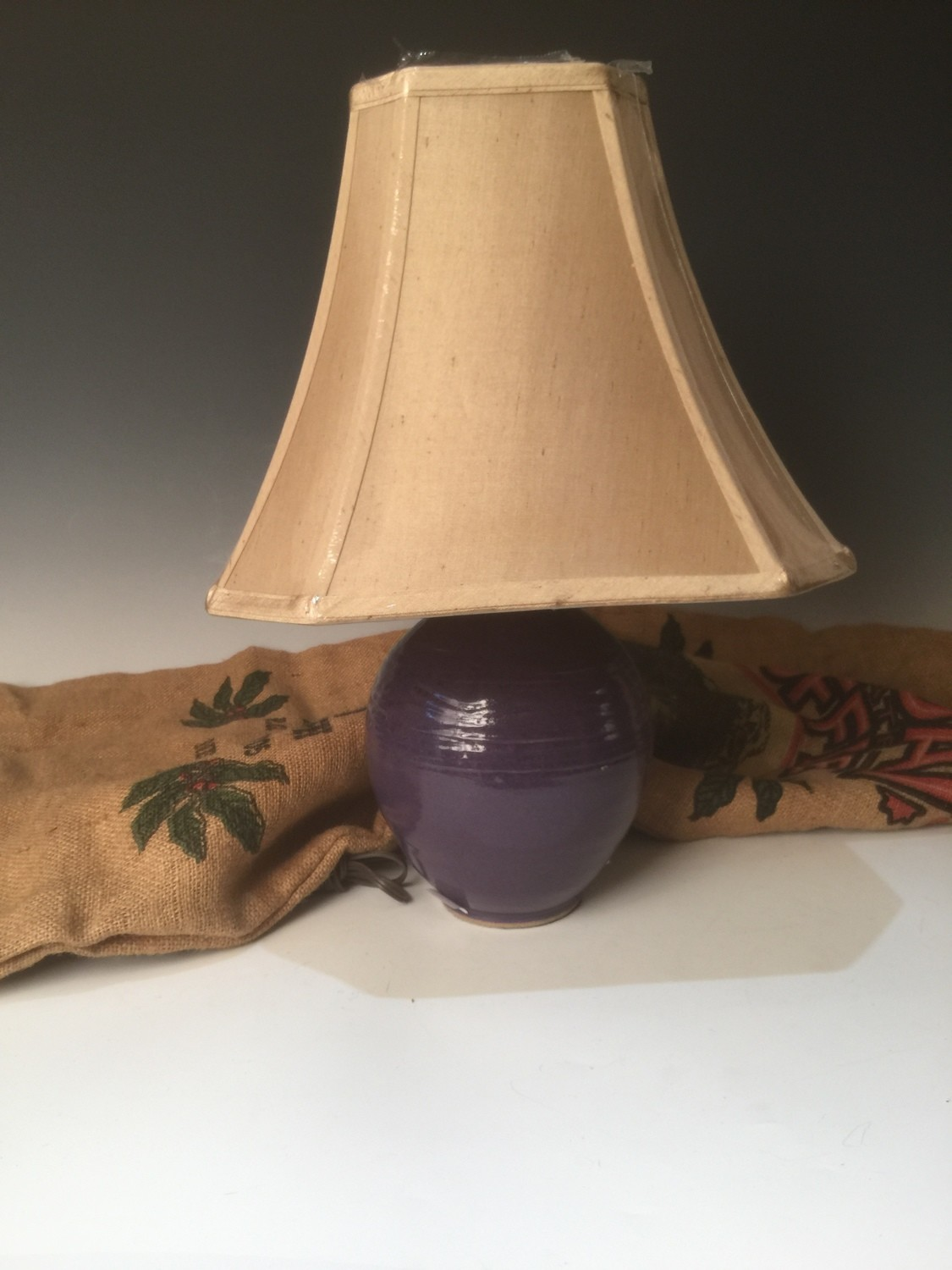 Lamp Carved/Large/Maxie