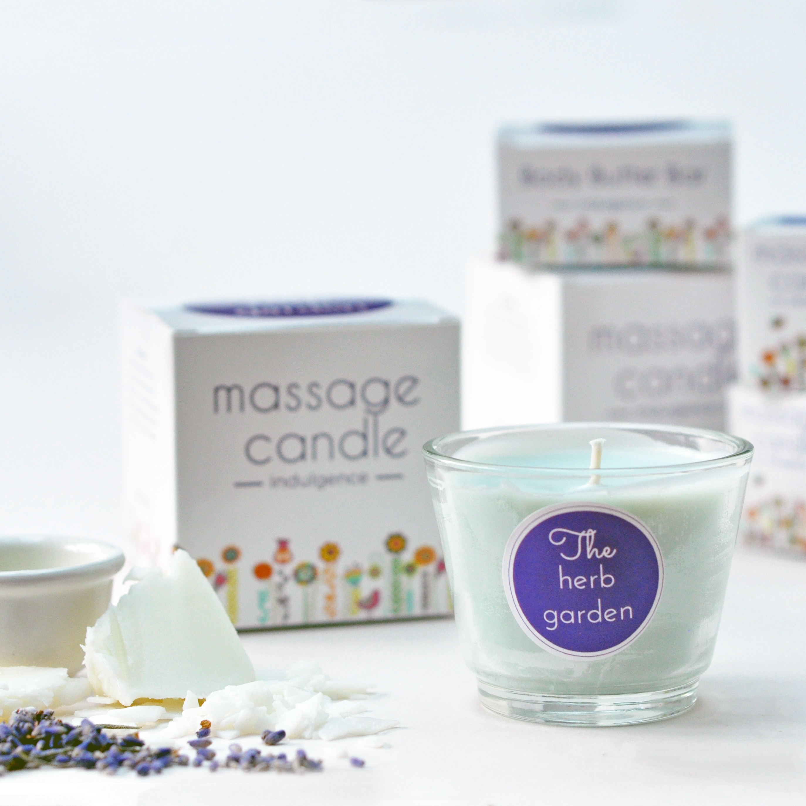 Relaxing Massage Candle
