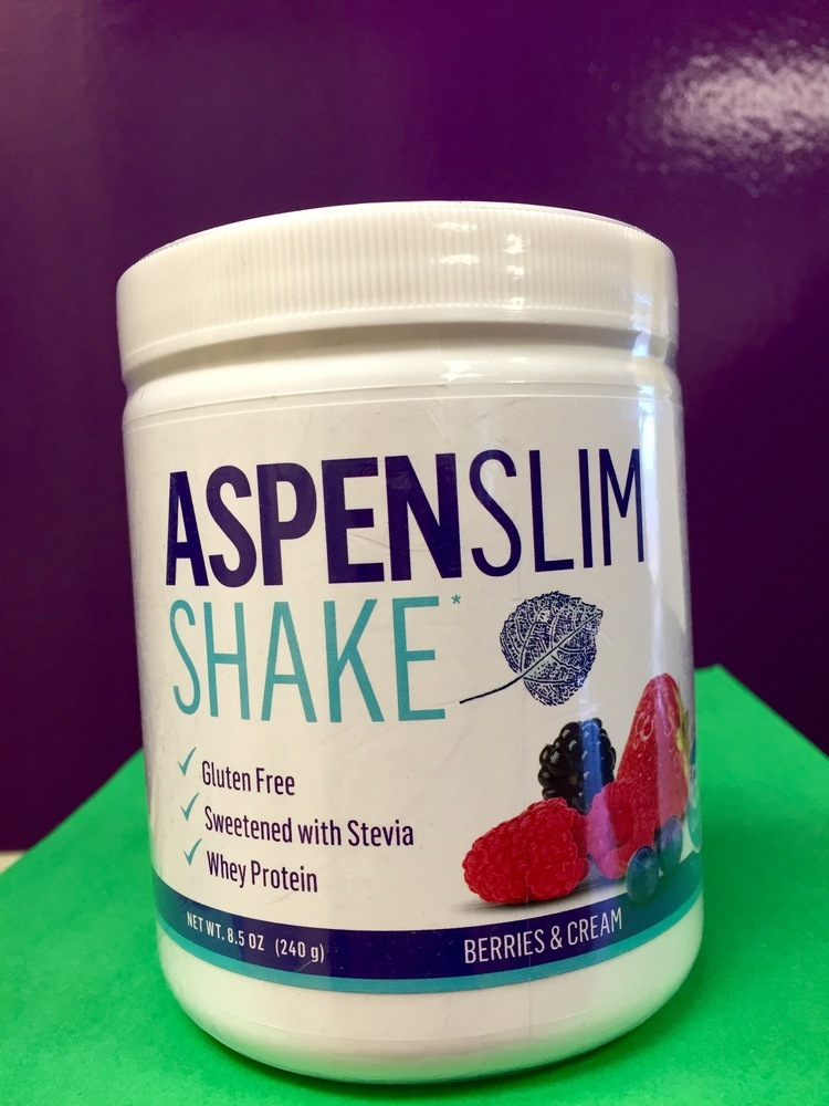 ASPEN SLIM SHAKE - BERRIES AND CREAM 0000003