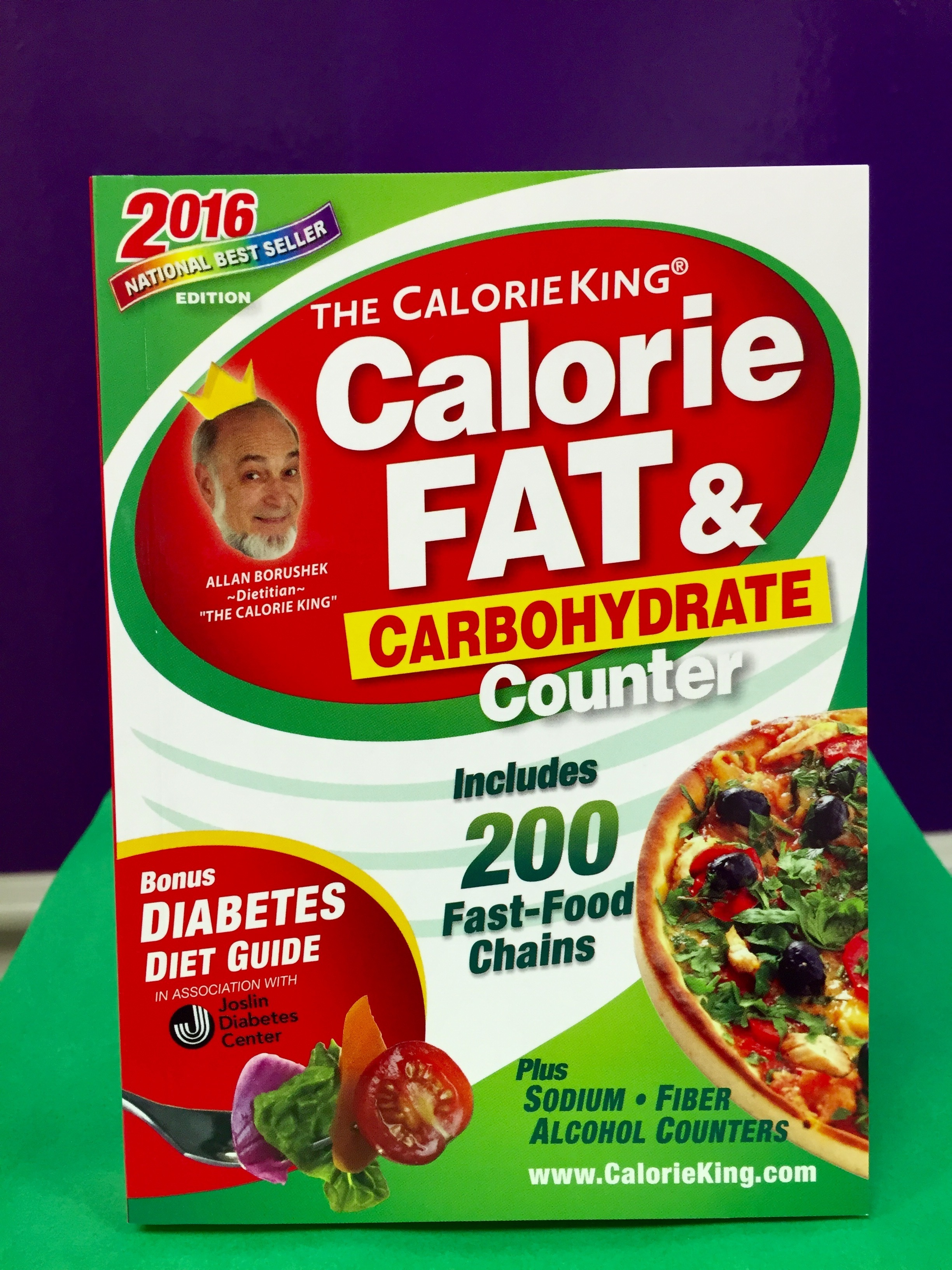 CALORIE, FAT, AND CARBOHYDRATE COUNTER 00037