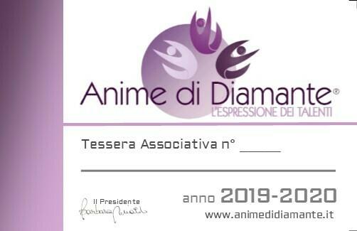 "TESSERA ASSOCIATIVA ""OVER 18"" ANNO 2019-2020"