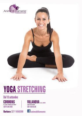YOGA STRETCHING 8 ENTRATE