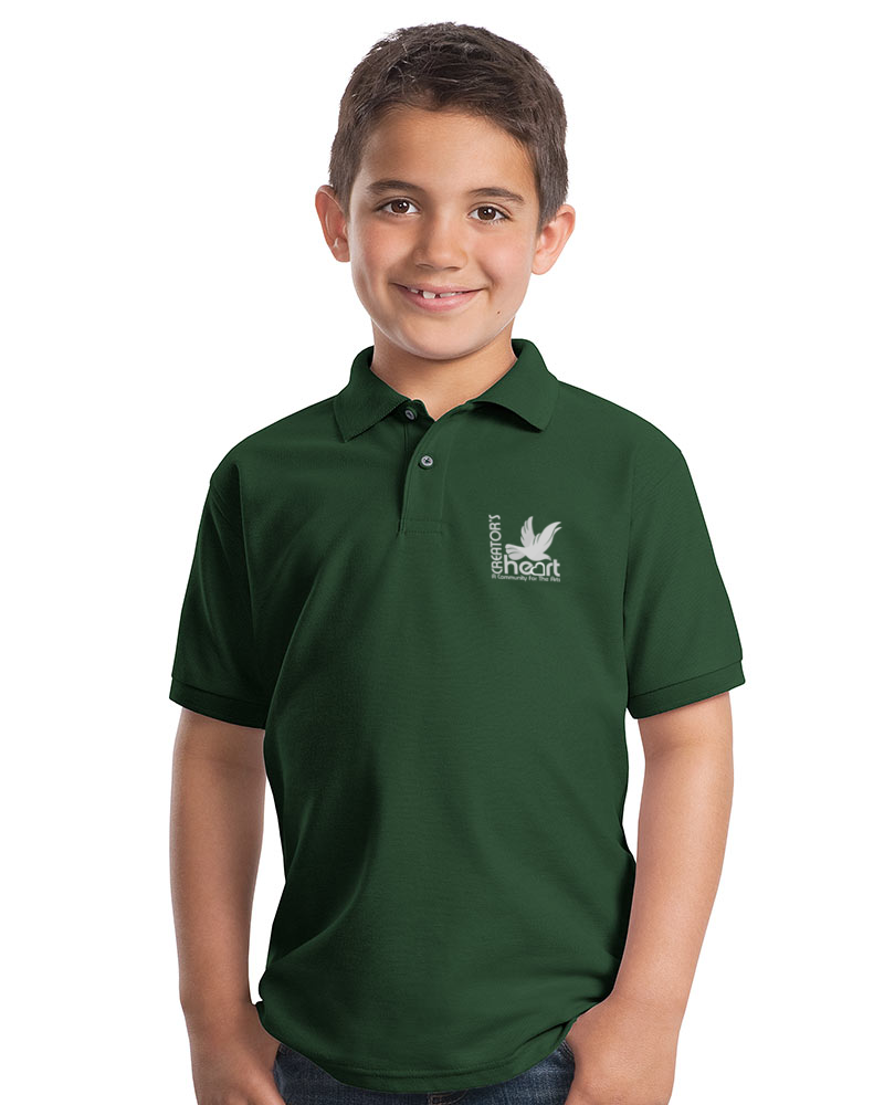 Youth Silk Touch Pique Polo Style Unisex