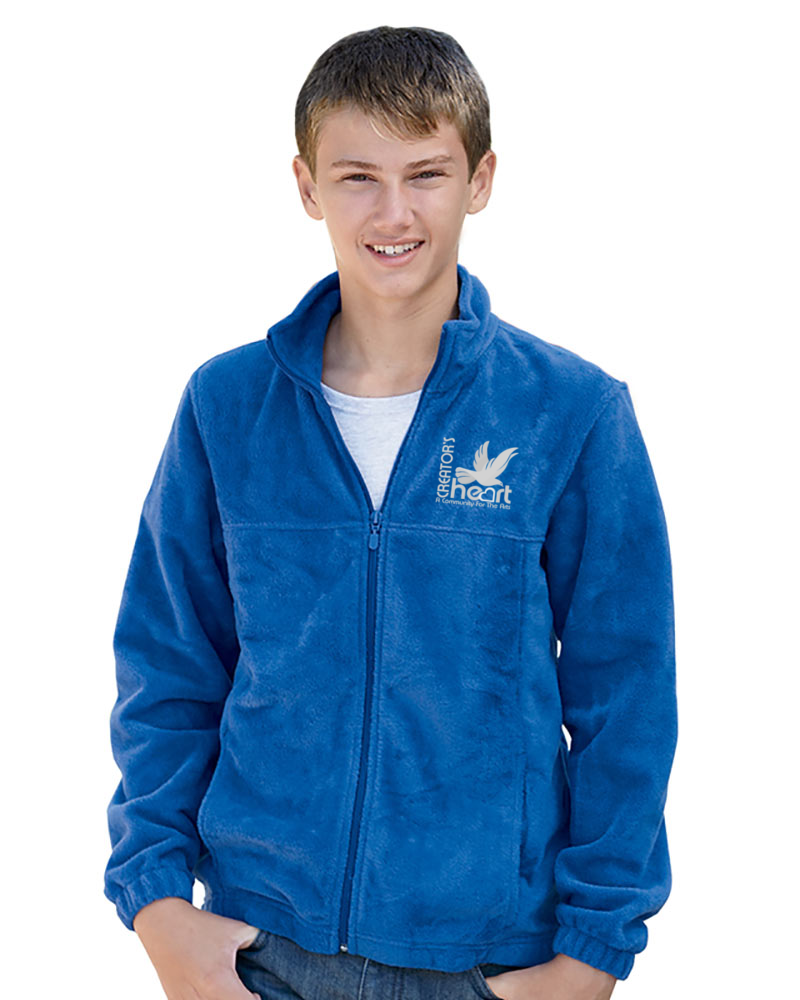 Youth 8 oz. Full-Zip Fleece Unisex