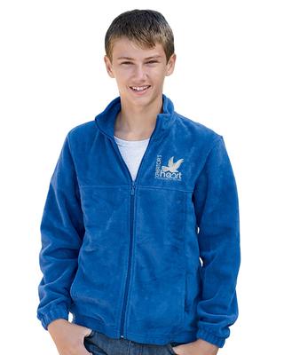 Youth 8 oz. Full-Zip Fleece Unisex