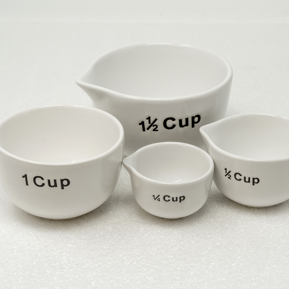 White Measuring Cups SG190008
