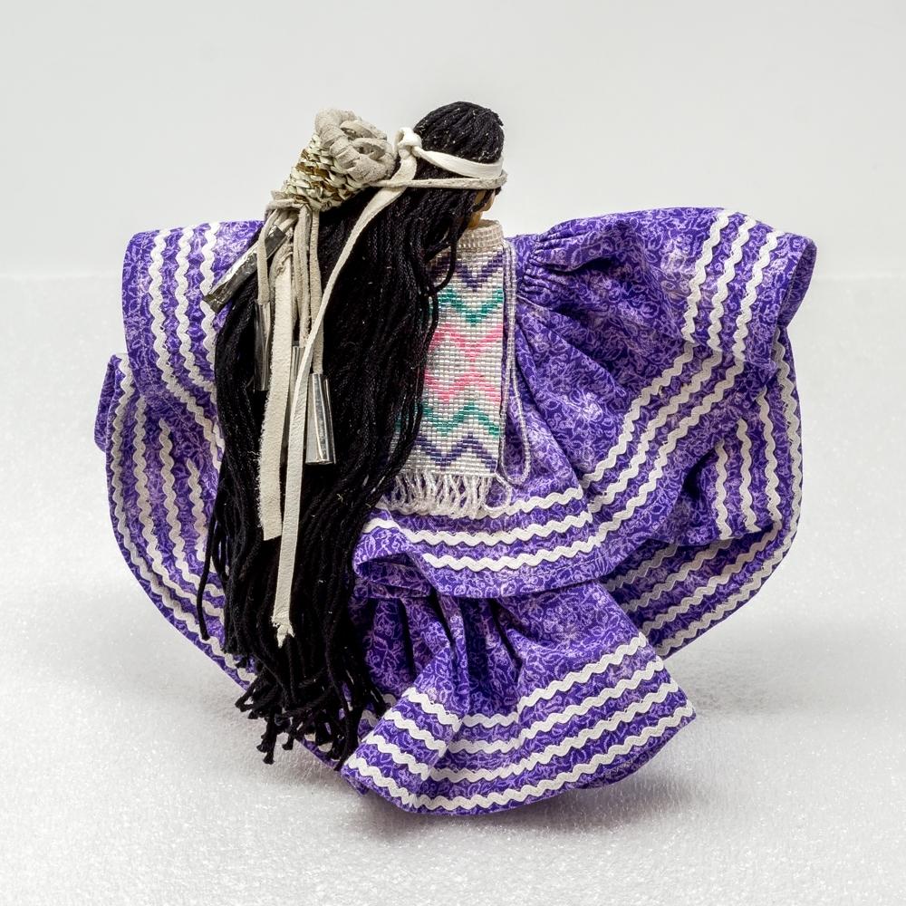 Apache Woman by Arlene Kast - Purple GA190006