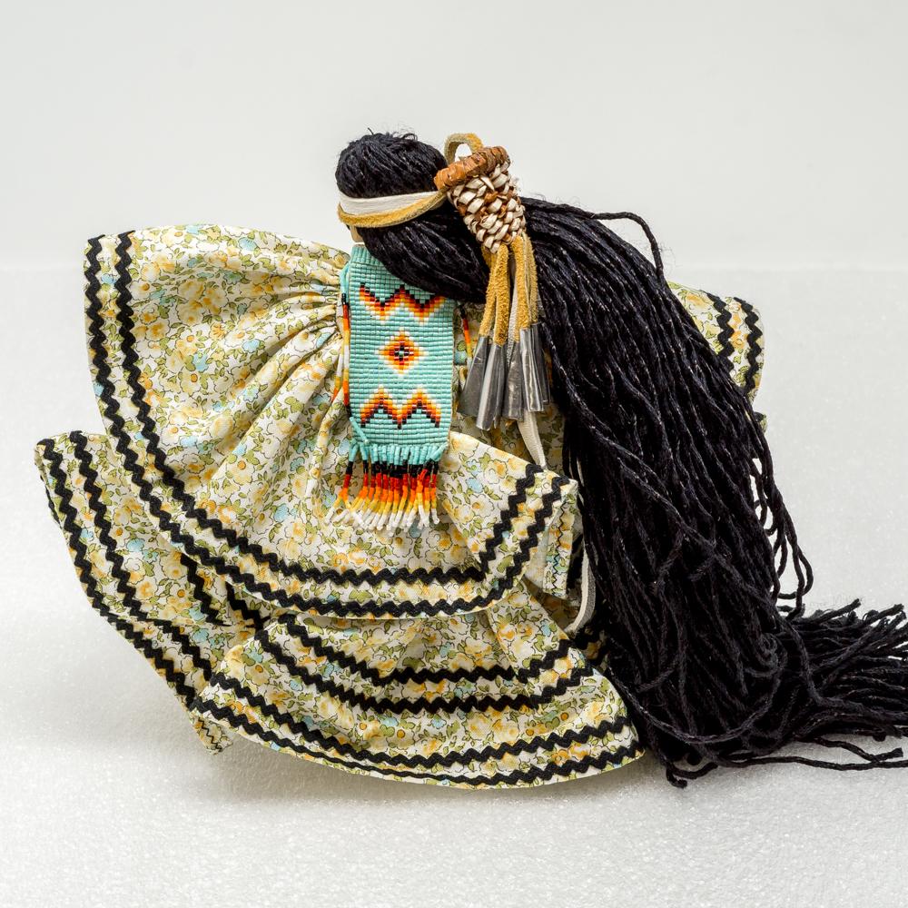 Apache Woman by Arlene Kast - Yellow GA190008