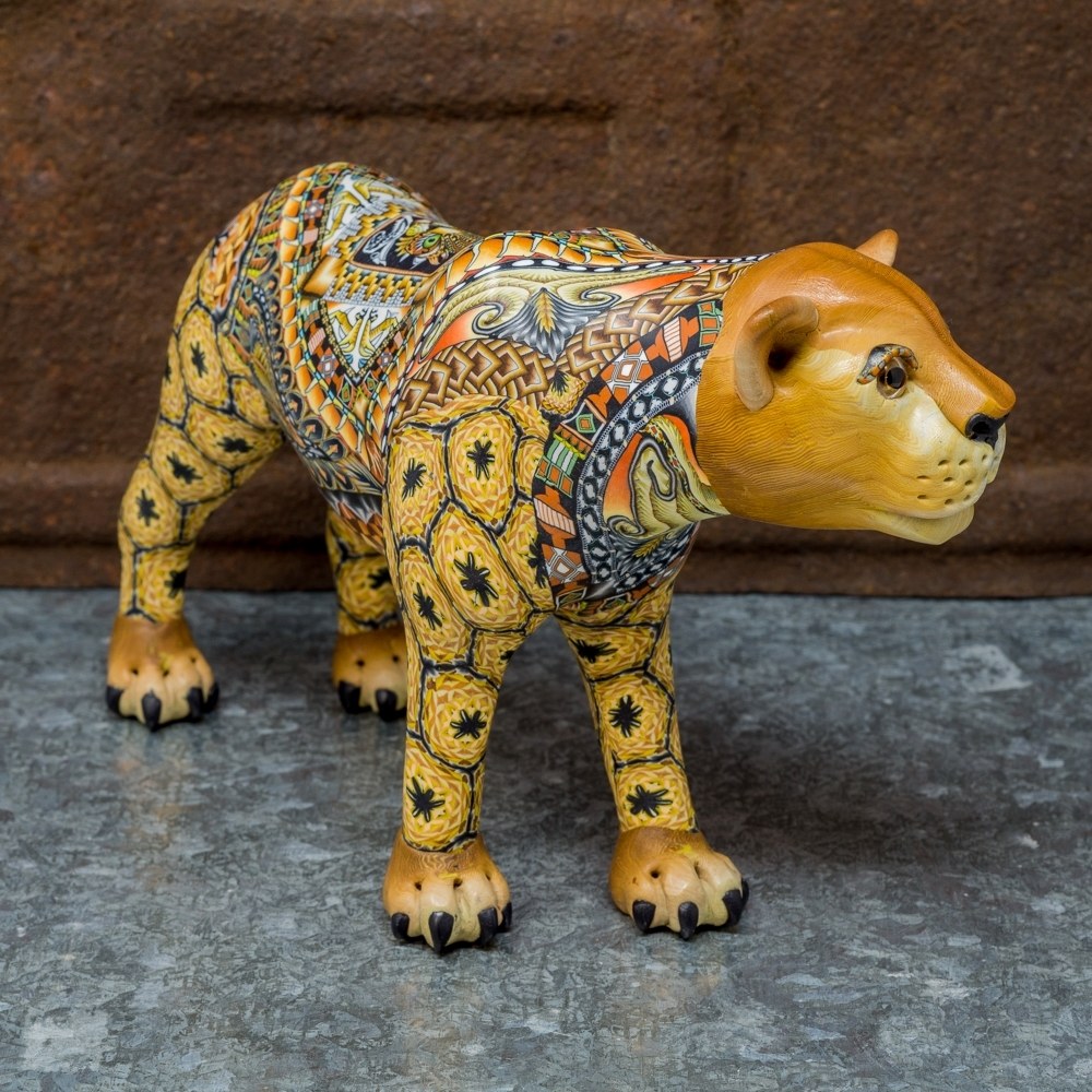 FimoCreations - Lioness - Side View