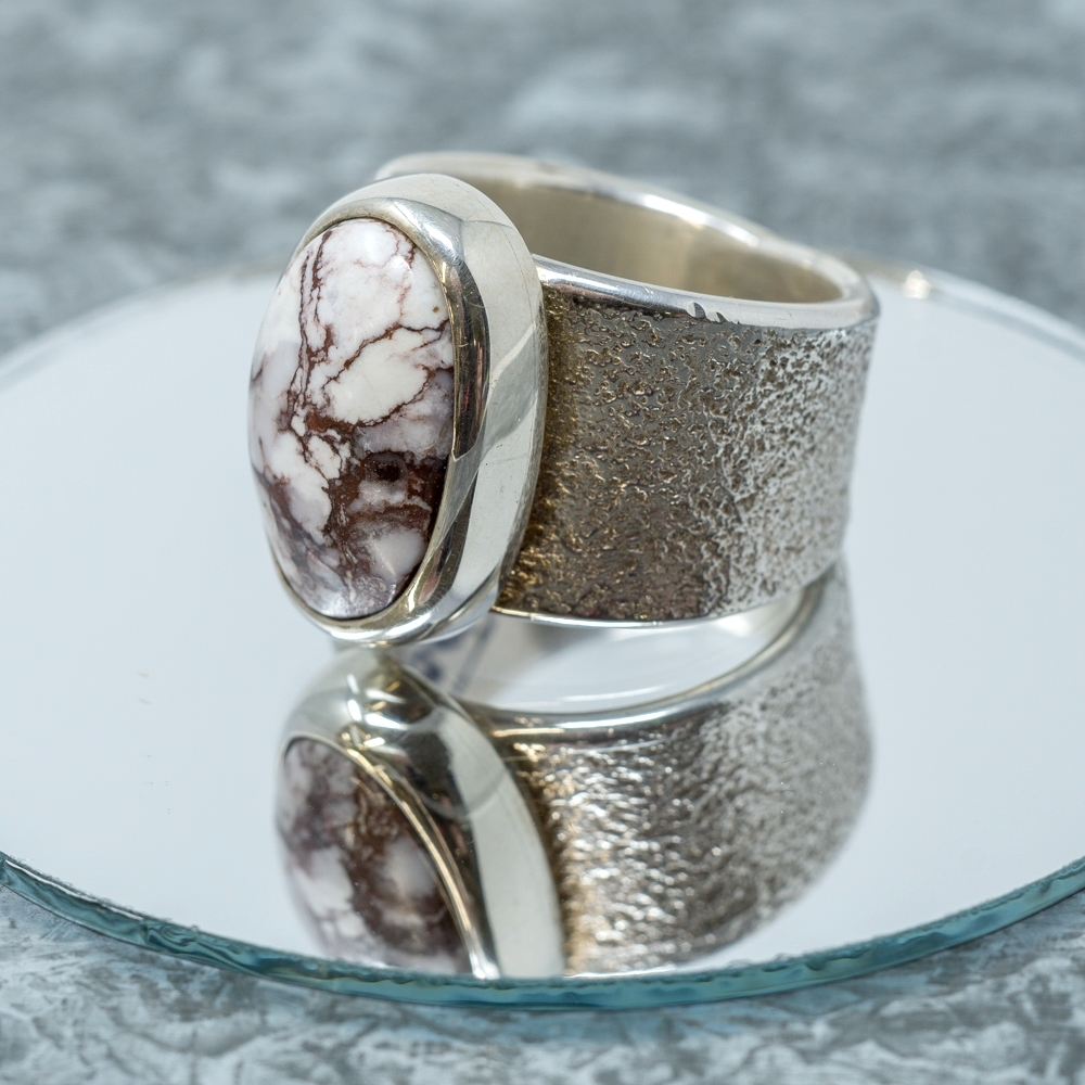 Wild Horse Sterling Ring JE190044