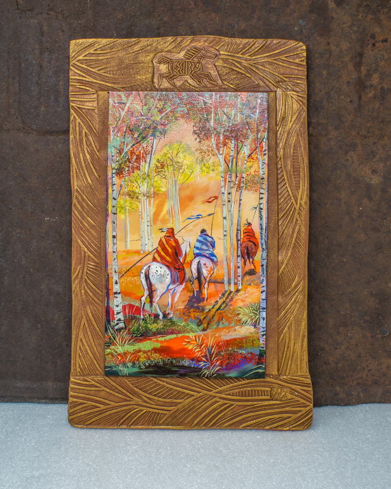 Kenarova Canvas on Clay - On Horseback SG190030
