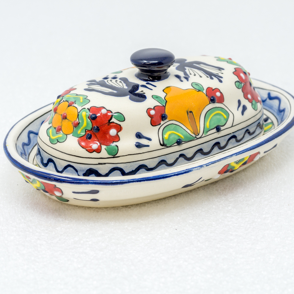 Talavera Butter Dish with Lid SO190013
