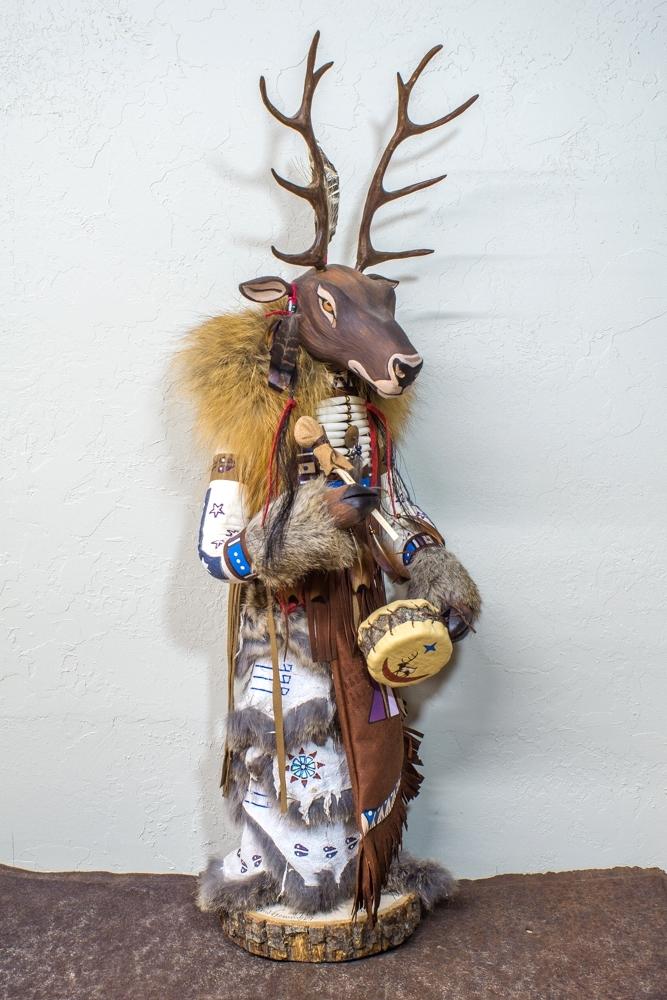 Black Elk Manitou - Side View