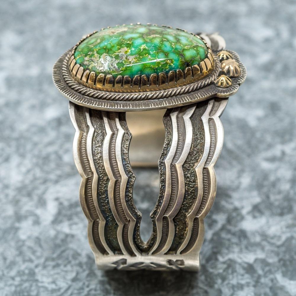 Tommy Jackson Larry Cooley Turquoise Bracelet