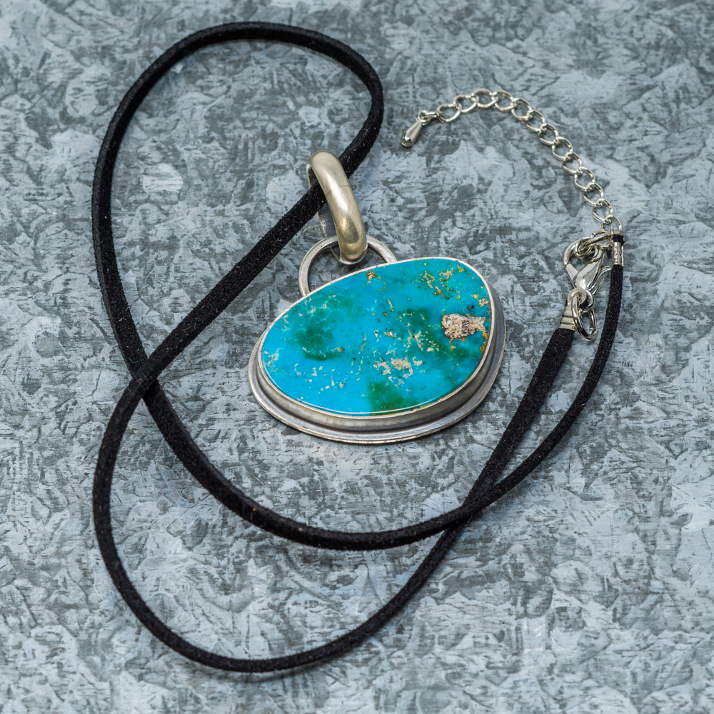 Turquoise Pendant by Aztex SG190072