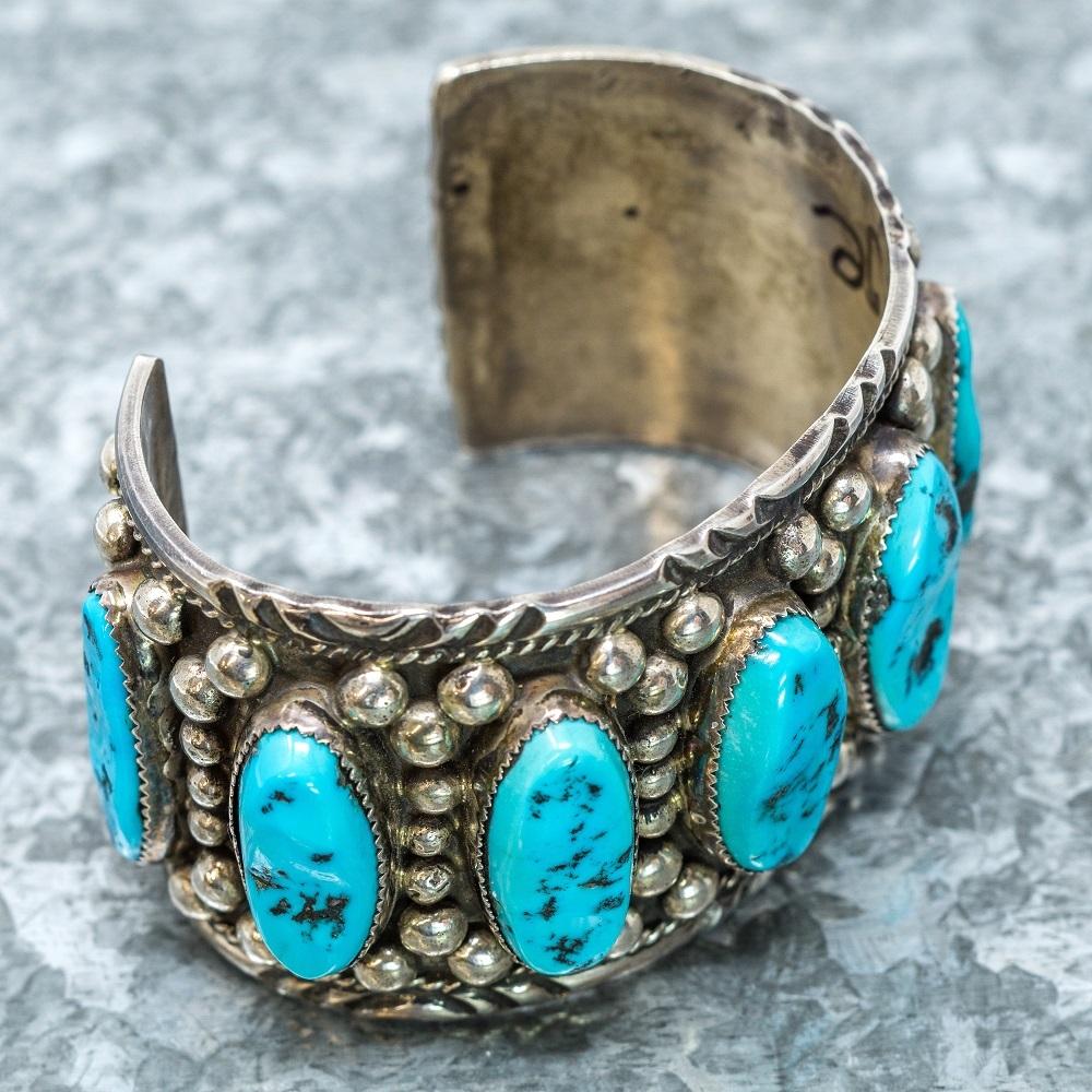 Vintage Sleeping Beauty Bracelet