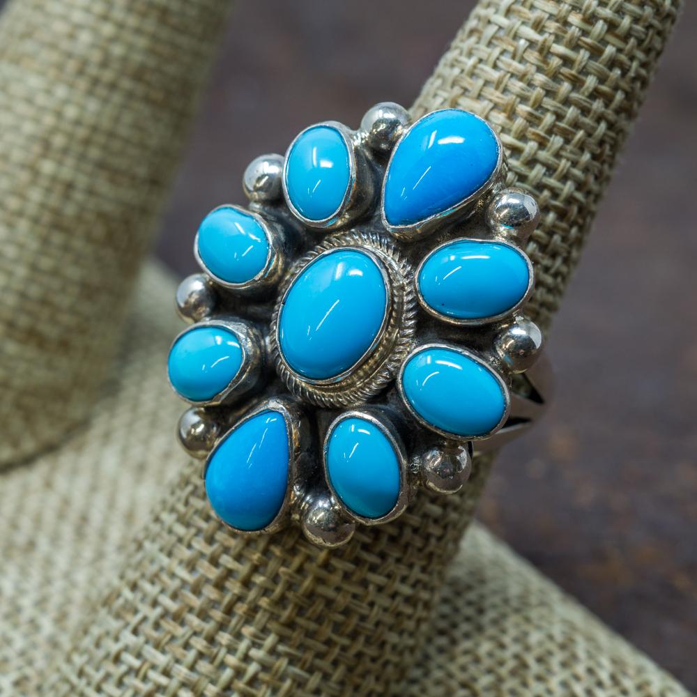 Sleeping Beauty Turquoise Ring SB190016