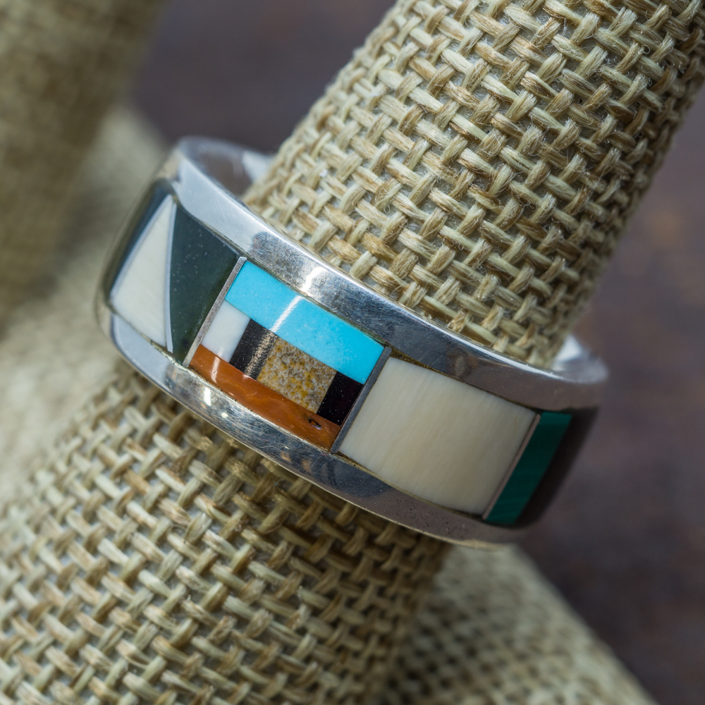 Multi-Stone Inlay Ring JE190096