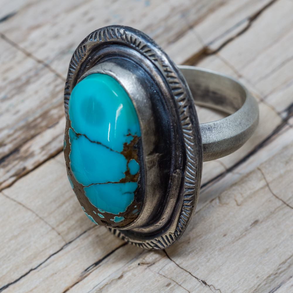 Dragonfly Nevada Turquoise Ring JE200001