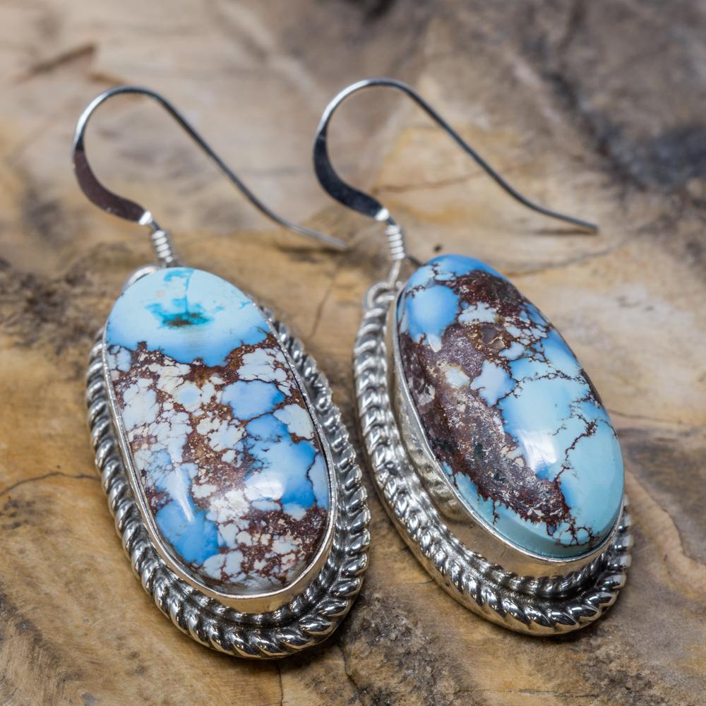 Golden Hills Turquoise Earrings JE200010