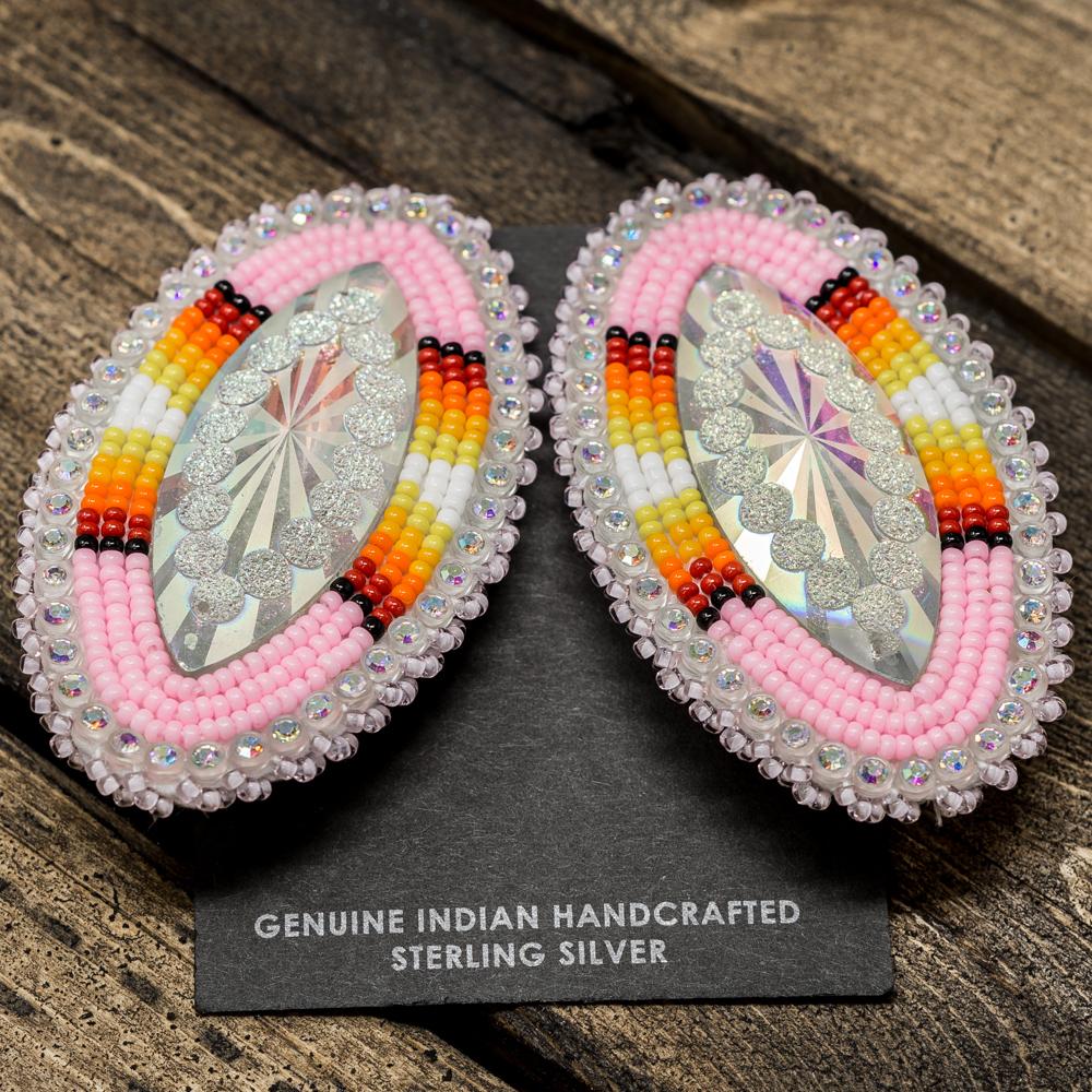 Apache Beaded Earrings JE200025
