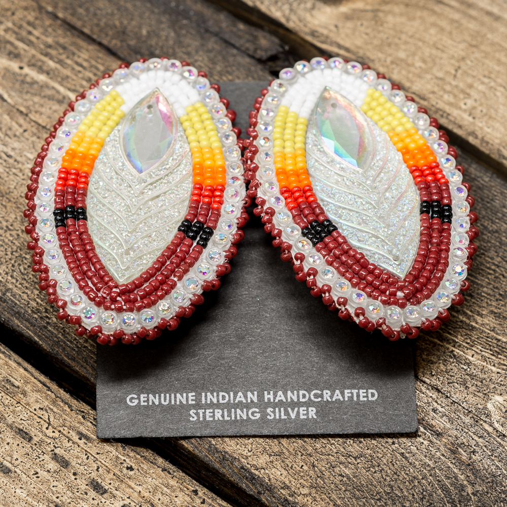 Apache Beaded Earrings JE200024
