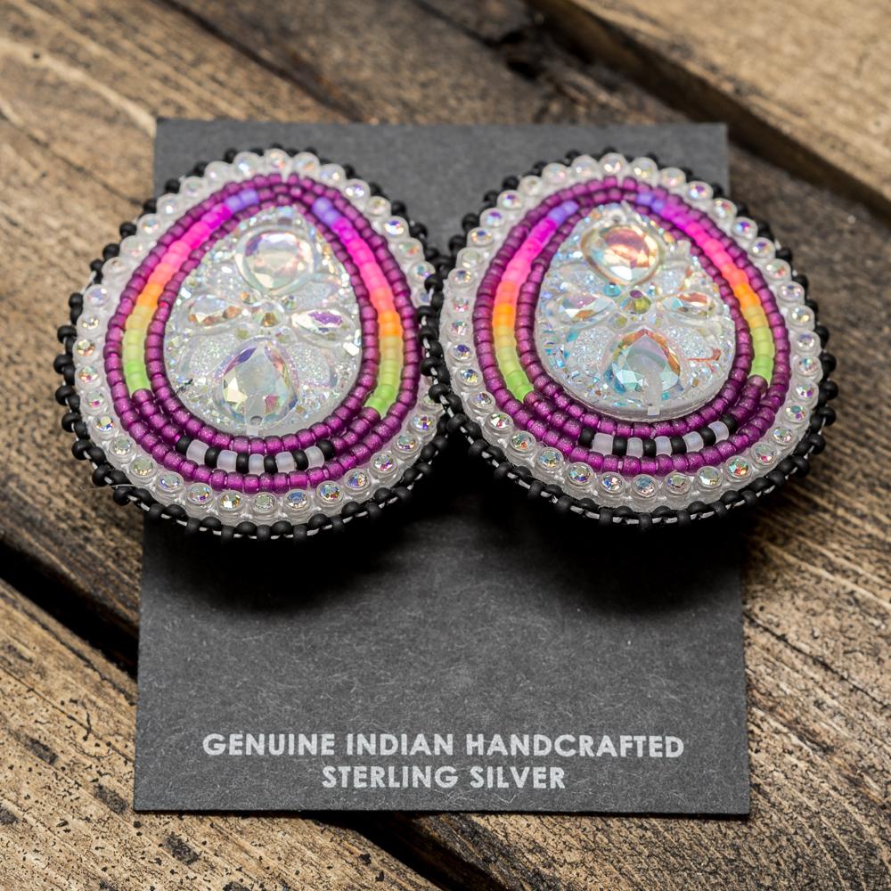 Apache Beaded Earrings JE200028