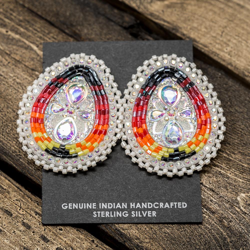 Apache Beaded Earrings JE200030