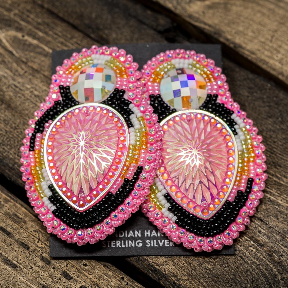 Apache Beaded Earrings JE200029