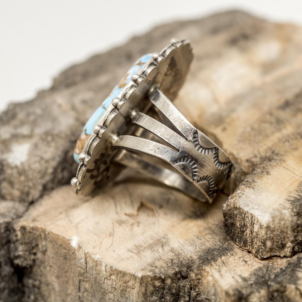 Golden Hills Turquoise Ring