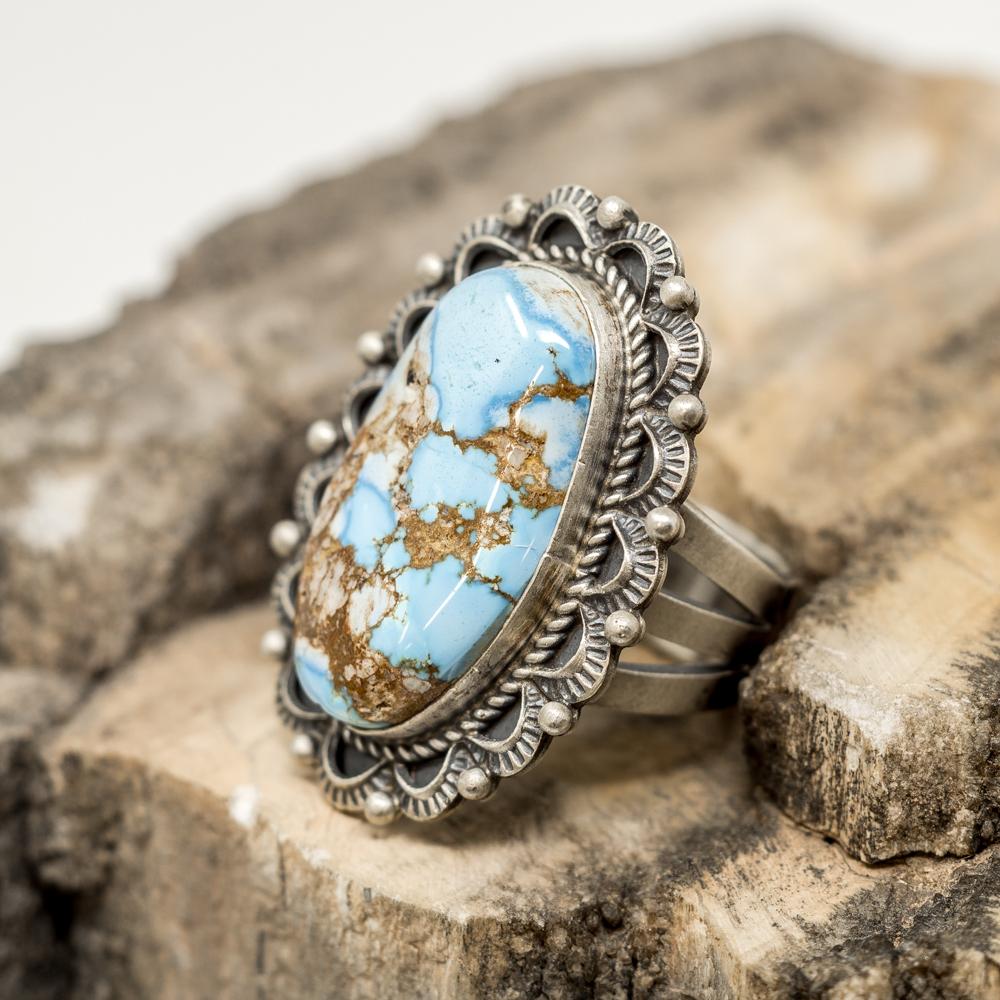 Golden Hills Turquoise Ring JE200035